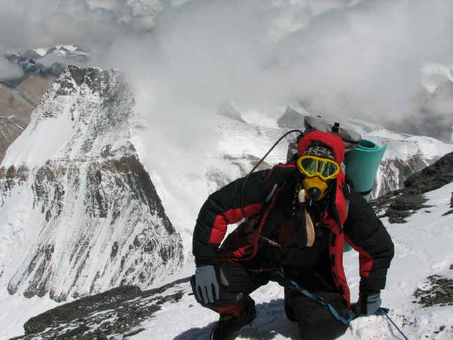 Mt Everest North Ridge summit photo
