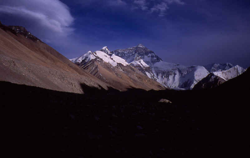 Mt. Everest North side in Tibet