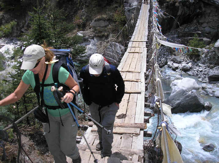 Bridges on the Everest trail