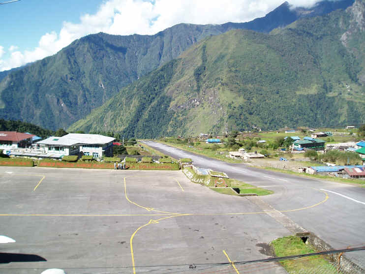 Lukla airport Peak Freaks