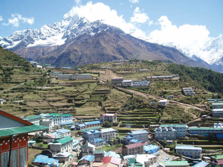 Namche Bazaar Khumbu Valley Peak Freaks