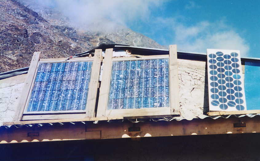 Solar powered teahouses in the Everest region